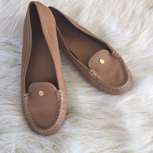 Talbots tan size 8 soft leather